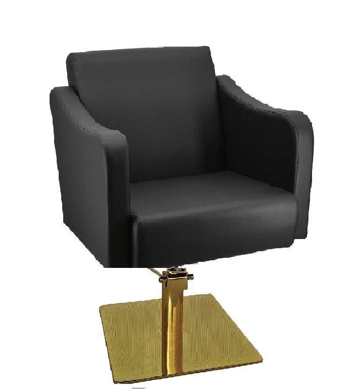 XARA fodrász szék, arany színű talppal